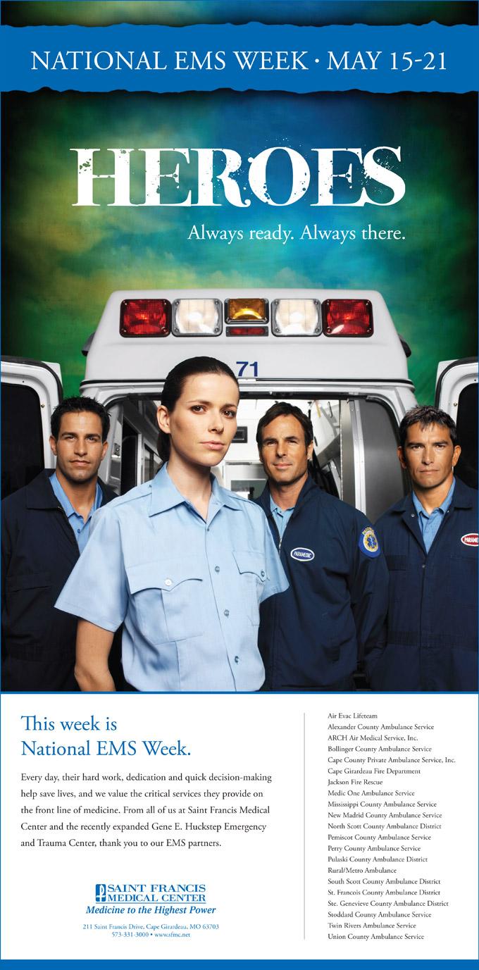 EMS Week Ad